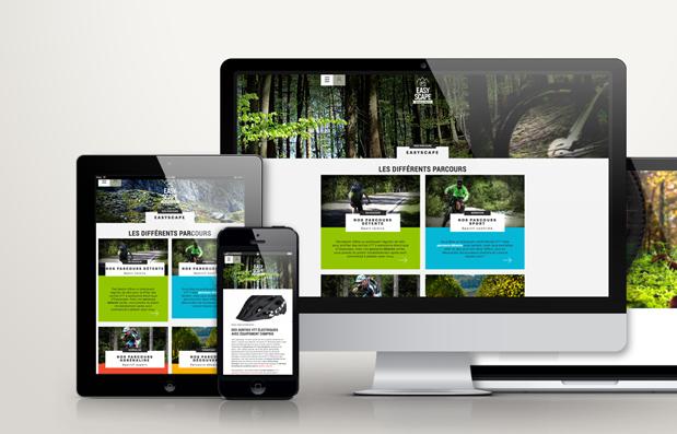 Création du site internet ecommerce de la marque Easyscape