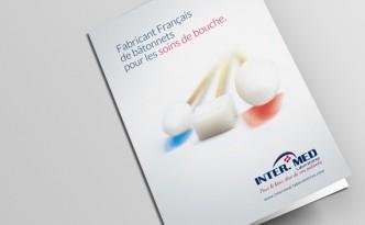 Création de la plaquette Inter.Med Laboratoires