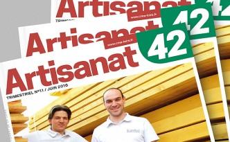 Edition du magazine de la Chambre des Métiers de la Loire