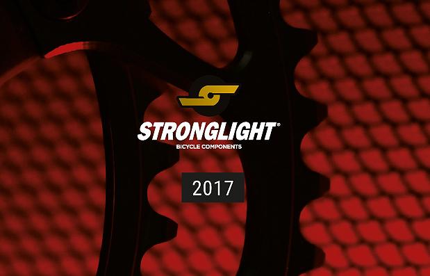 Création du catalogue Stronglight 2017.