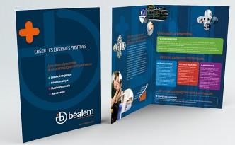 Création de la plaquette société Béalem