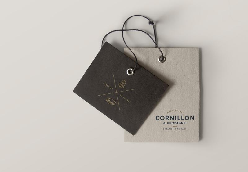 Création de la nouvelle image de marque Cornillon Tissage