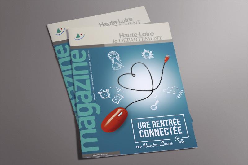 Sortie du nouveau magazine du Département de la Haute-Loire