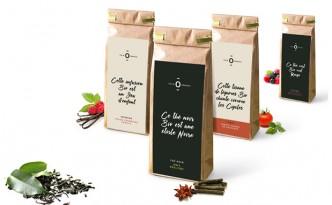 Création de l'image de marque et charte packaging de la gamme bio Folie Organic