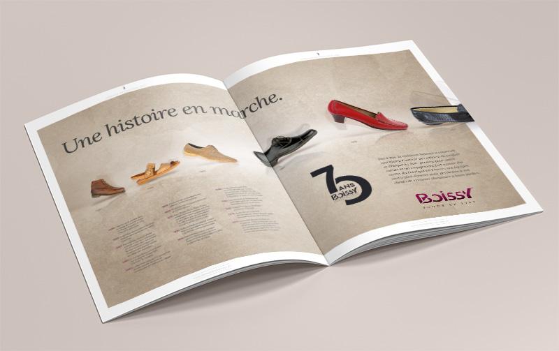 Edition du catalogue Boissy Chaussures Automne Hiver 2017