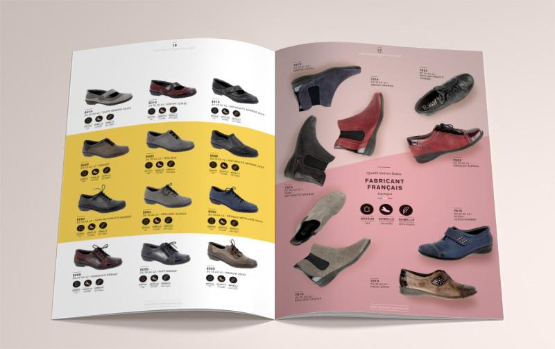 dition du catalogue boissy chaussures automne hiver 2017. Black Bedroom Furniture Sets. Home Design Ideas
