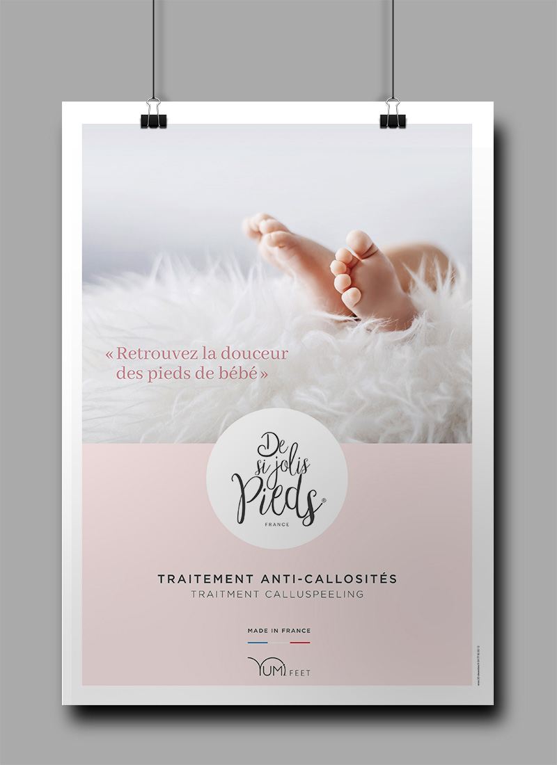 "Création de la marque ""De si jolis pieds"""
