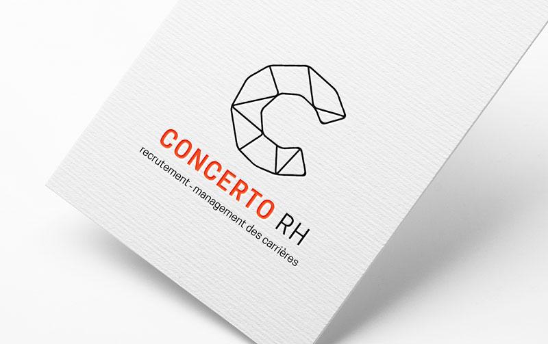 Création de la nouvelle identité de Concerto RH