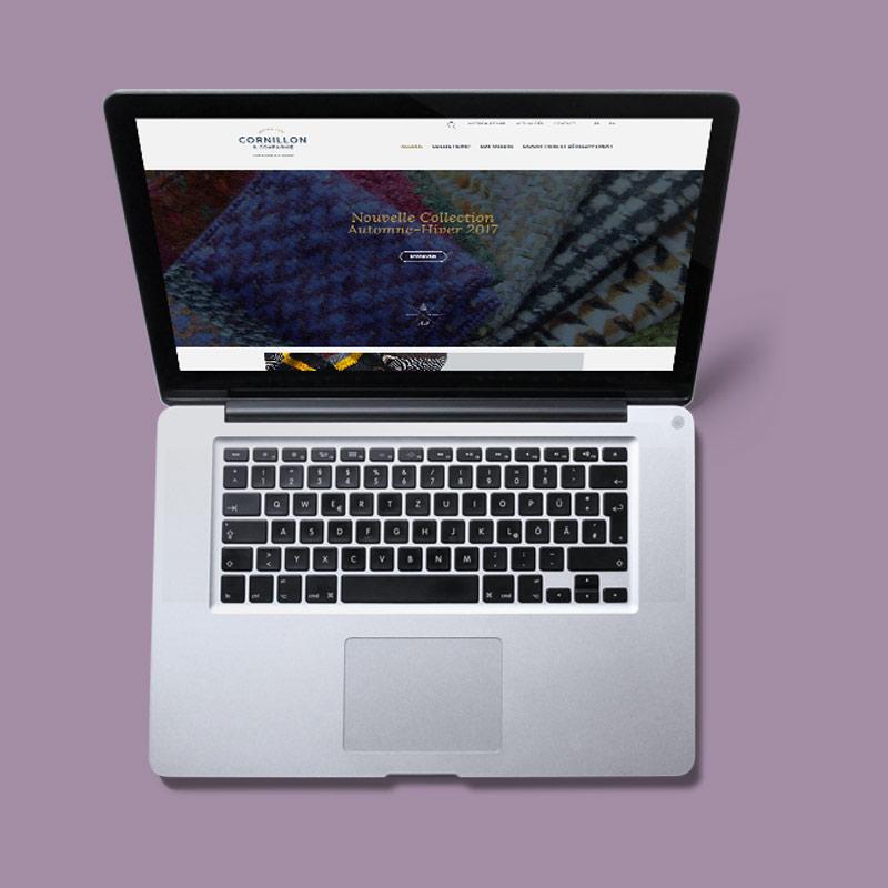 Cornillon - Création du site Internet