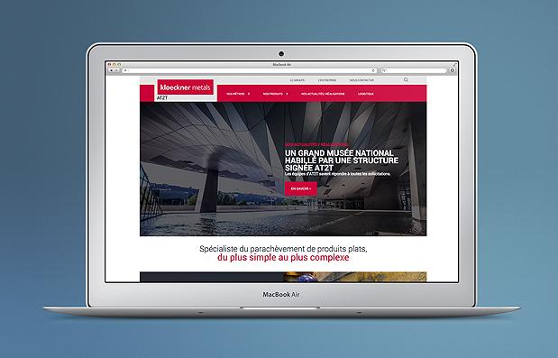 Création du site internet de la société AT2TCréation du site internet de la société AT2T