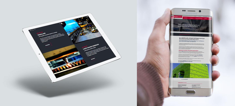 Design Creation Le Puy En Velay création du site internet de la société at2t - 32 décembre
