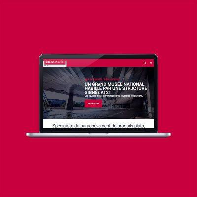Création du site internet de la société AT2T