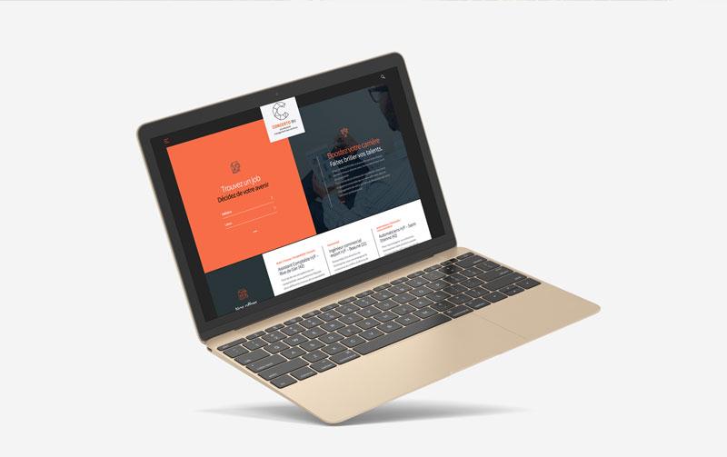Création du site internet Concerto RH