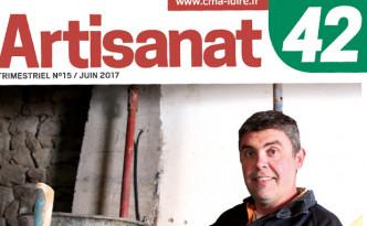 Sortie du magazine de la Chambre des Métiers de la Loire