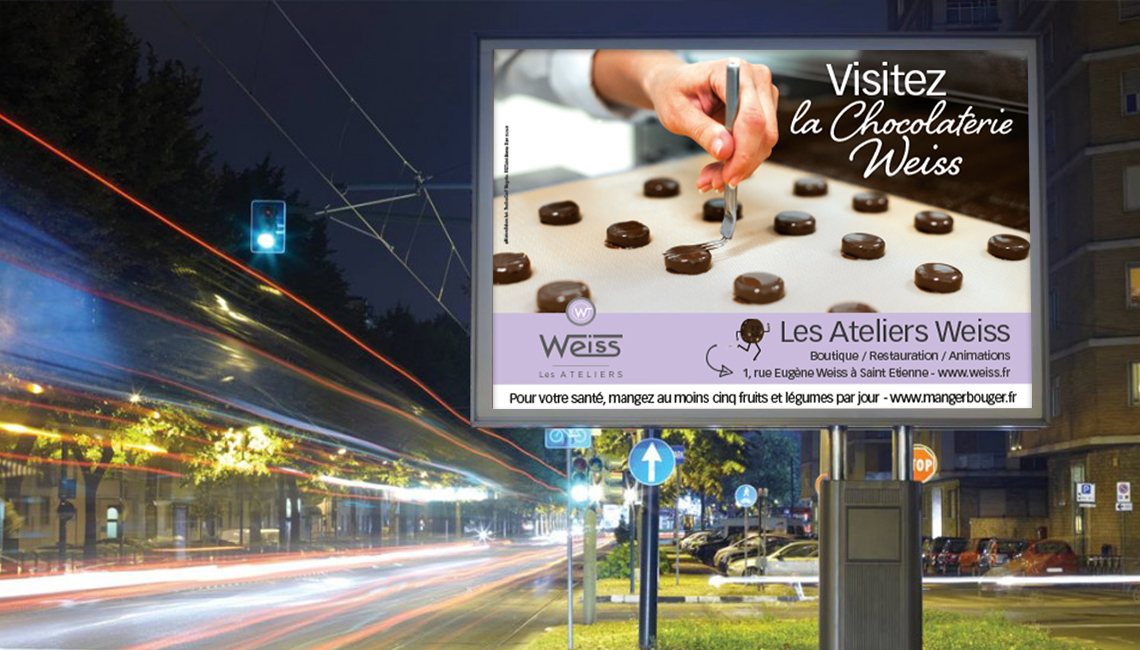 Campagne de communication pour les Ateliers Weiss