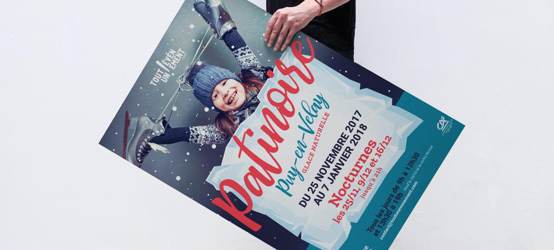 Design Creation Le Puy En Velay la patinoire du puy en velay fait sa comm' - 32 décembre