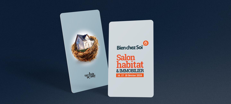 Campagne de communication pour le Salon Bien Chez Soi à Monistrol-sur-Loire