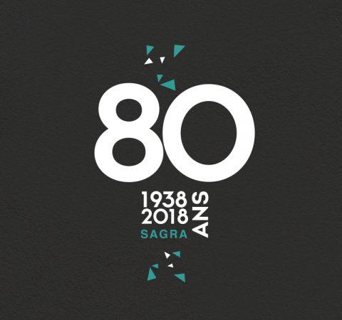 Communication événementielle pour les 80 ans de Sagra