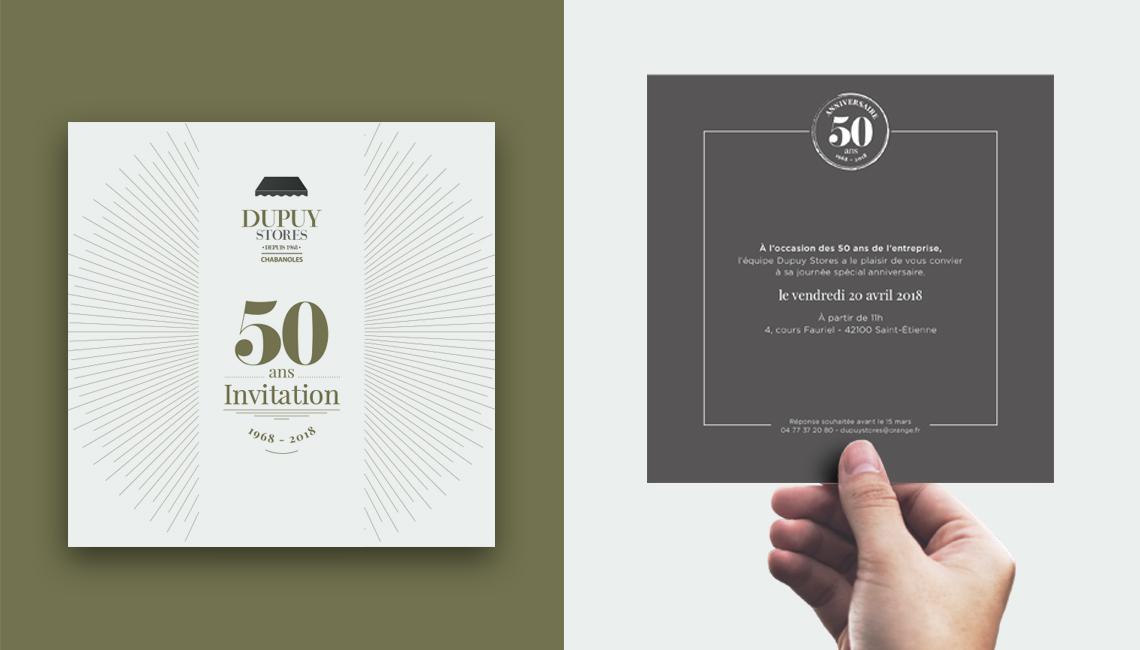 Dupuy Stores fête ses 50 ans