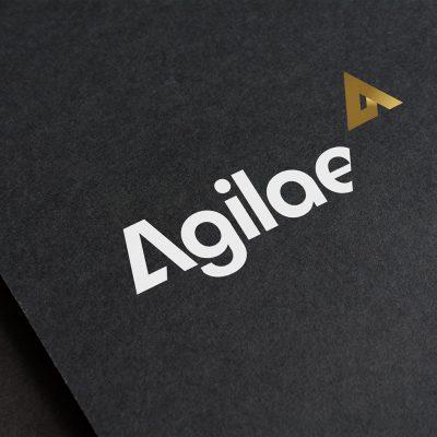 Création de logo pour la marque Agilaé