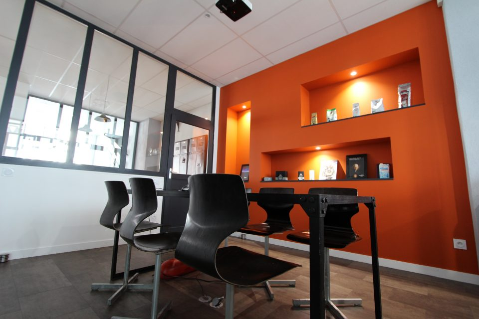 Salle de réunion - Agence de communication