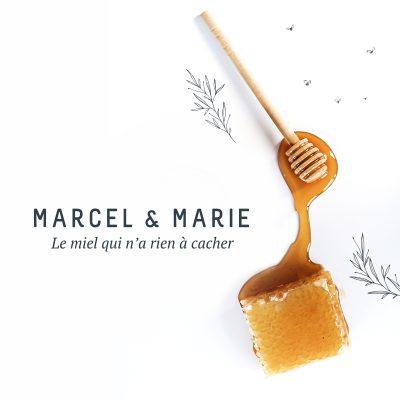 Naming pour la création de la marque Marcel & Marie