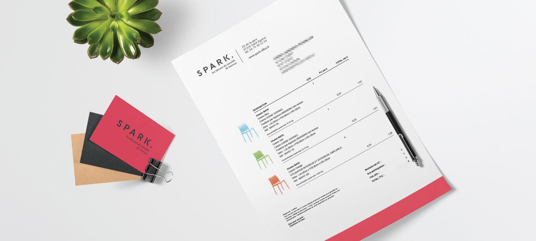 Création de marque et discours de marque Spark