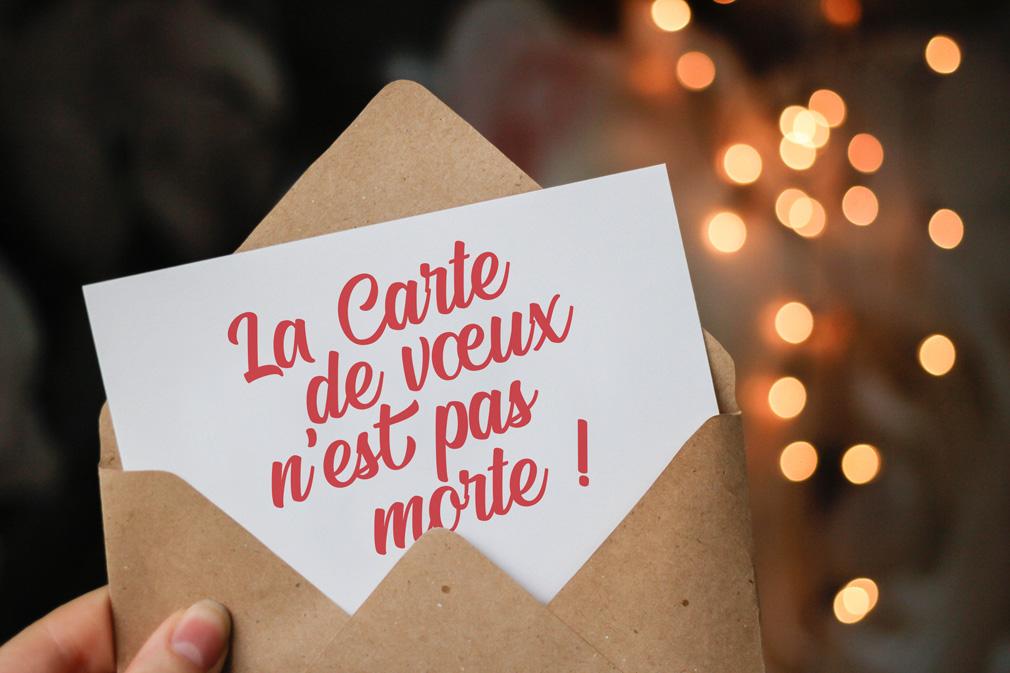 création de carte de vœux par l'agence 32 Décembre