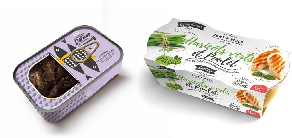 Confiez la création de packagings alimentaires à l'agence de communication 32 Décembre