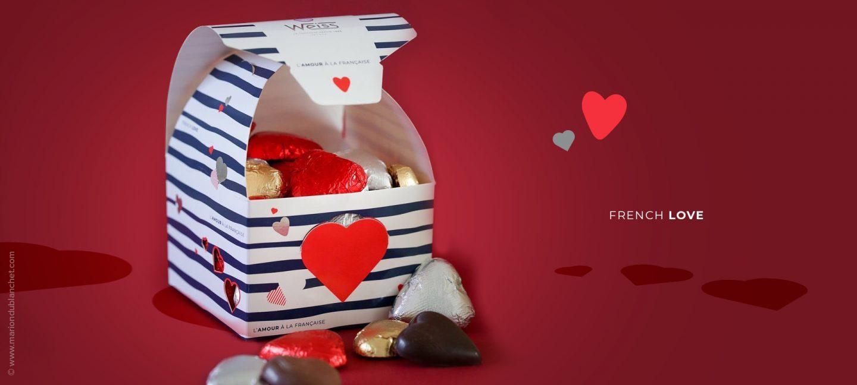 création packaging saint-valentin weiss
