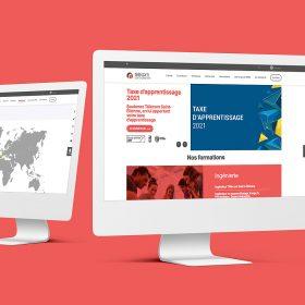 création site internet télécom saint-etienne