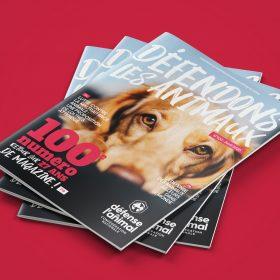 100ème numéro du magazine Défense de l'animal