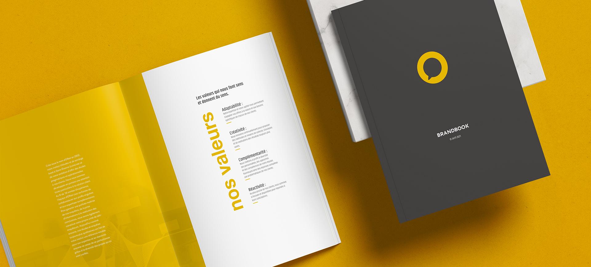 Brandbook pour la création d'une nouvelle marque